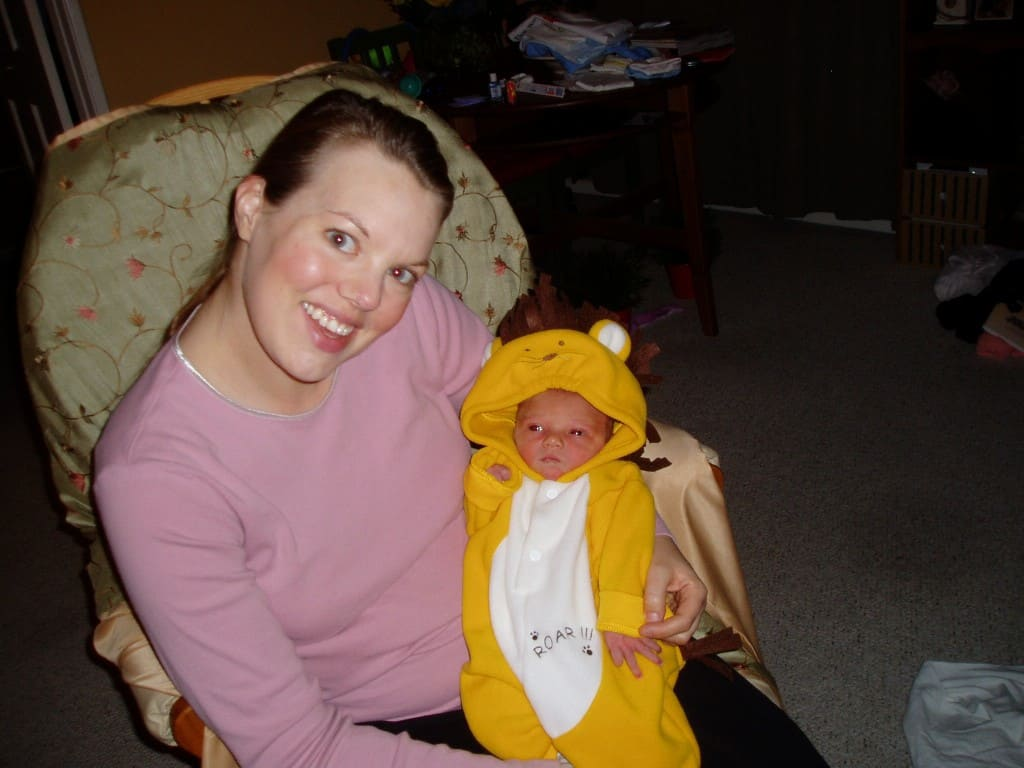 One day old! Halloween 2006
