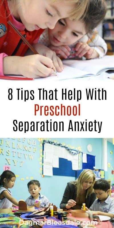 help with preschool anxiety