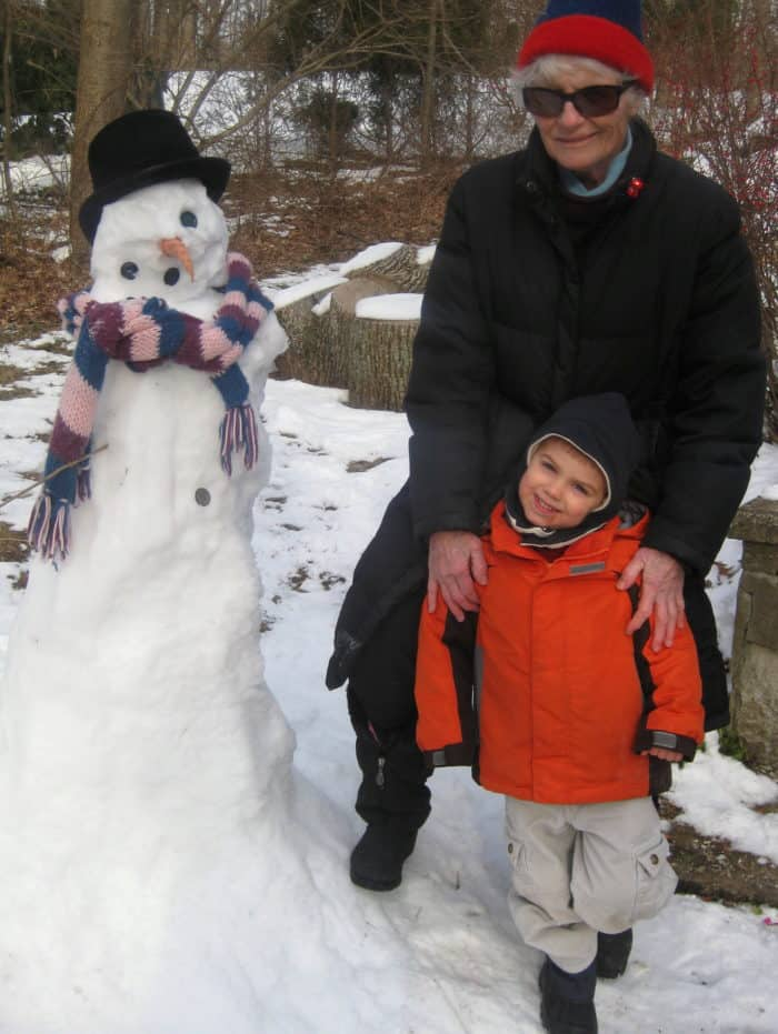 Wordless Wednesday — One-Eyed Snowman