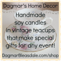 Dagmar's Home Decor: handmade candles in vintage teacups