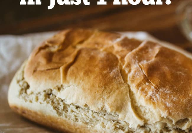 Bake Fast and Easy Bread in an Hour