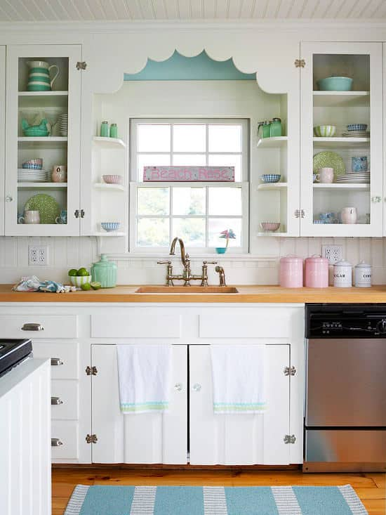 Stunning Shabby Chic Kitchen Decor Ideas