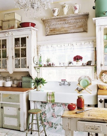 shabby chic kitchen decor inspirations