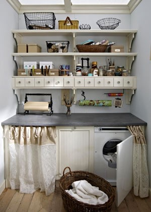 Laundry Room Storage Ideas | Dream House Experience
