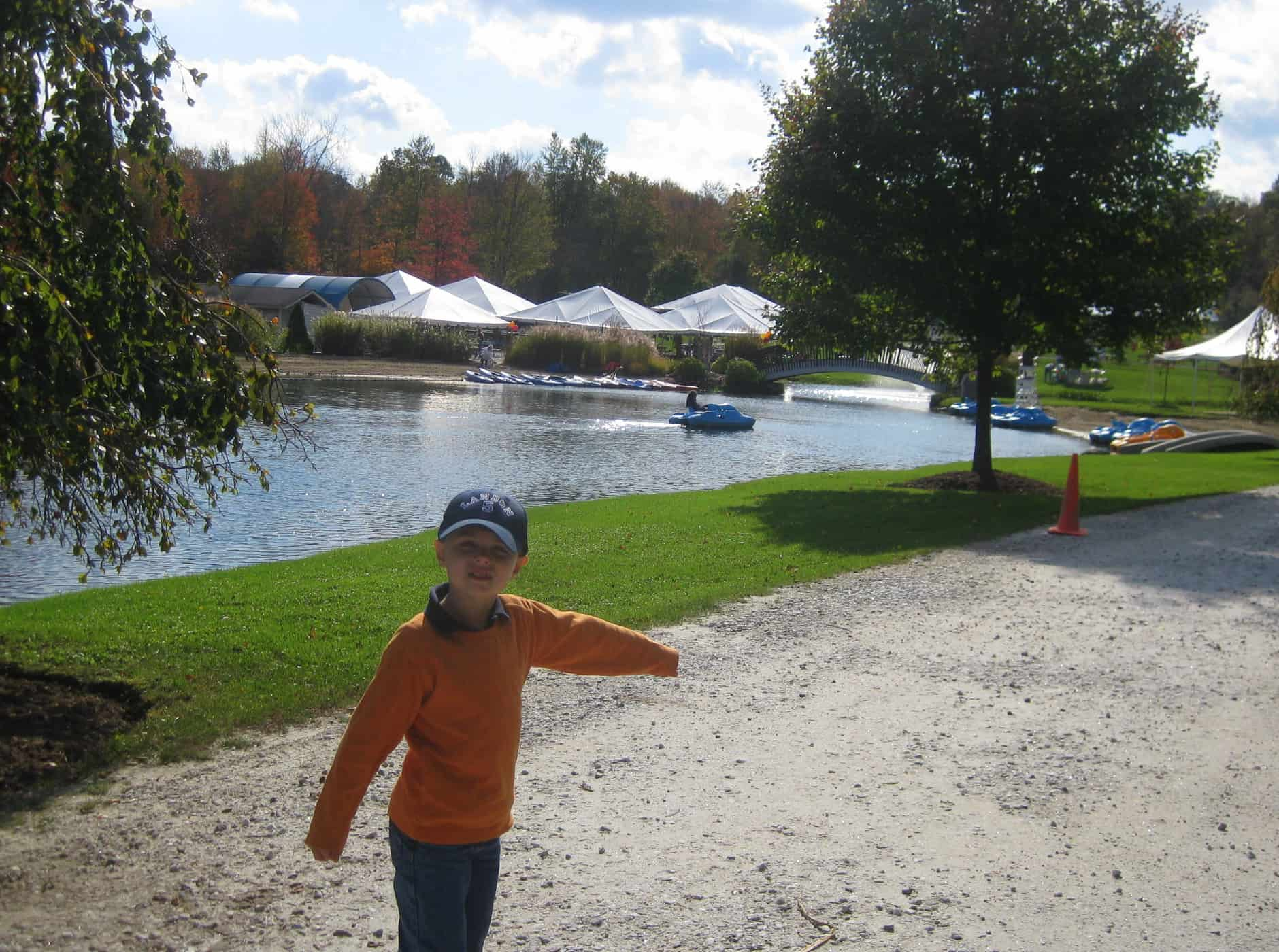 Fall Fair and Pedal Boat Fun