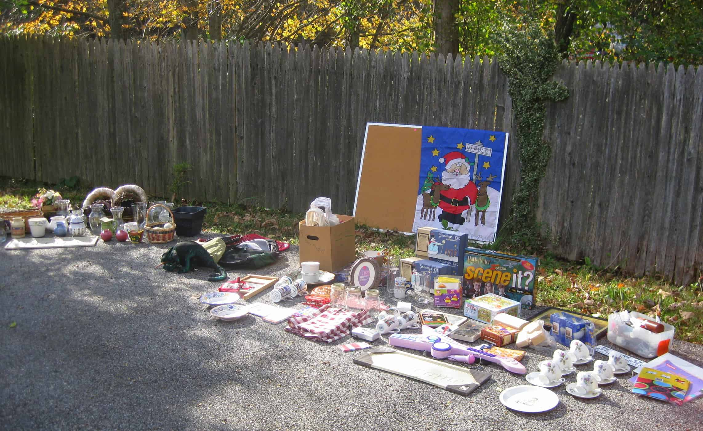 Dagmar's Yard Sale Finds: The Big Haul
