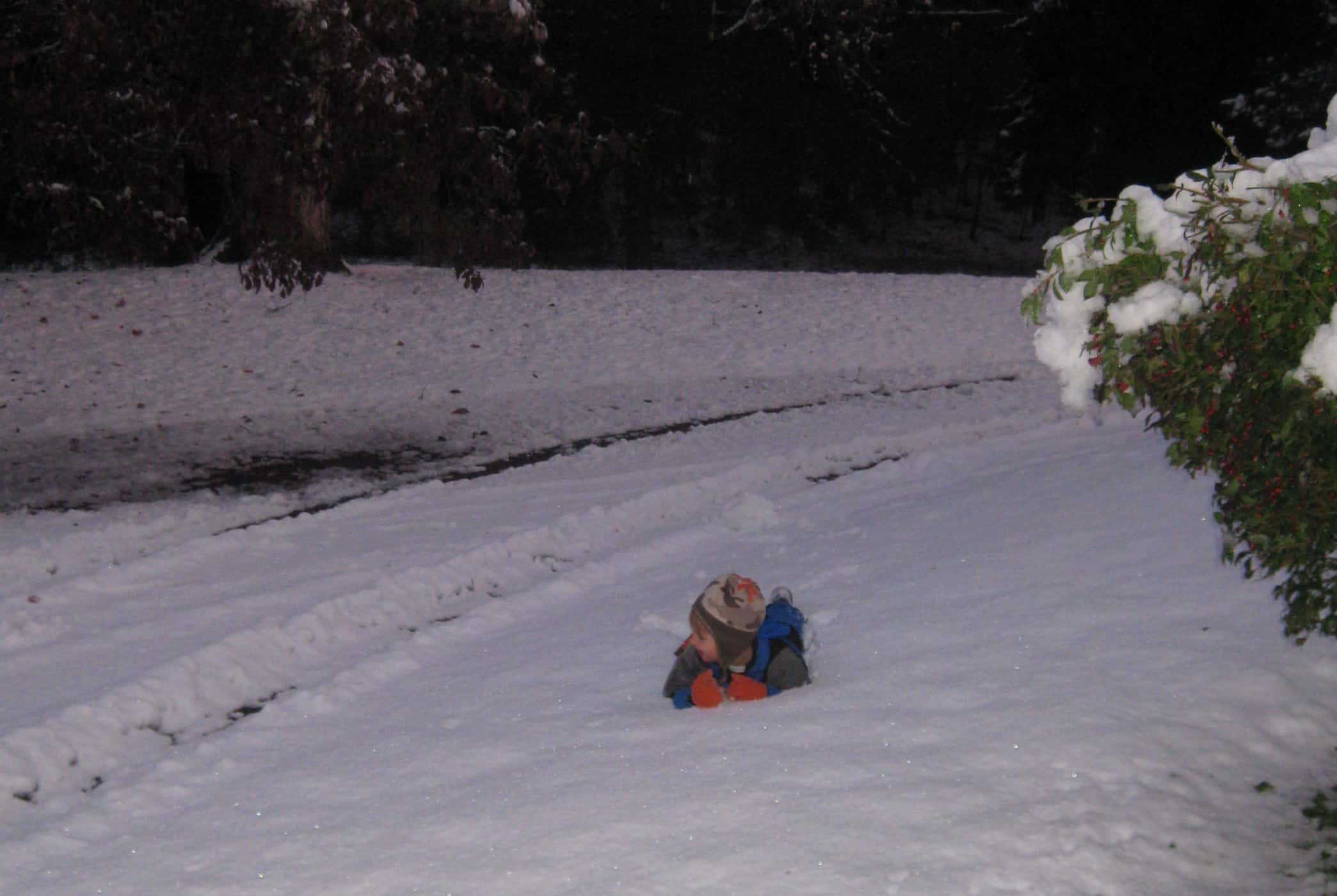 Wordless Wednesday — Halloween Canceled Because of Snow