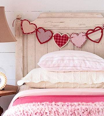 DagmarBleasdale.com: paper heart garland