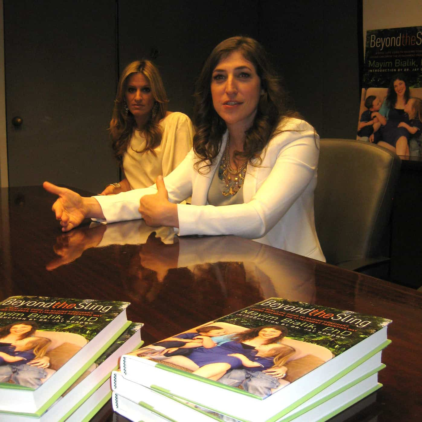 "Mayim Bialik and Her Must-Read Book ""Beyond the Sling"" About Gentle Attachment Parenting"