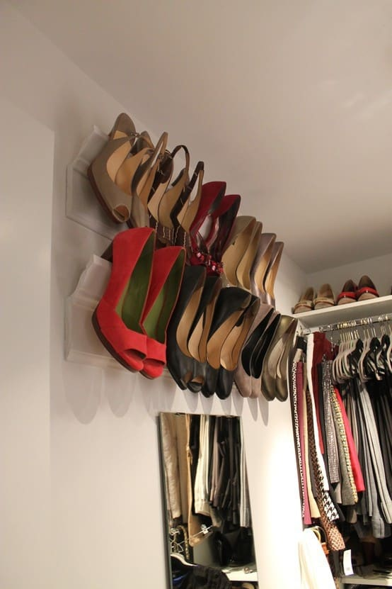 11 easy storage and organizing ideas for every room - Diy storage ideas for shoes ...