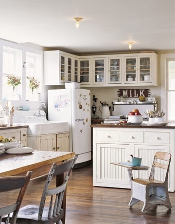 My dream home has a country farmhouse kitchen for Farm style kitchen decor