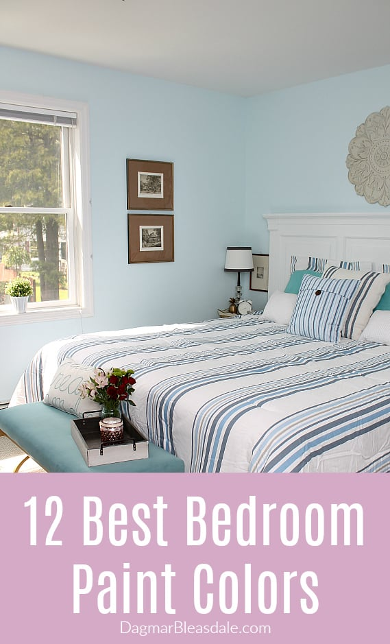 Best bedroom colors rose, Bedroom paint color, best bedroom colors, blue, DagmarBleasdale.com