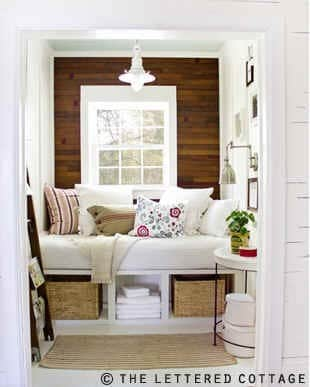 window seat design idea