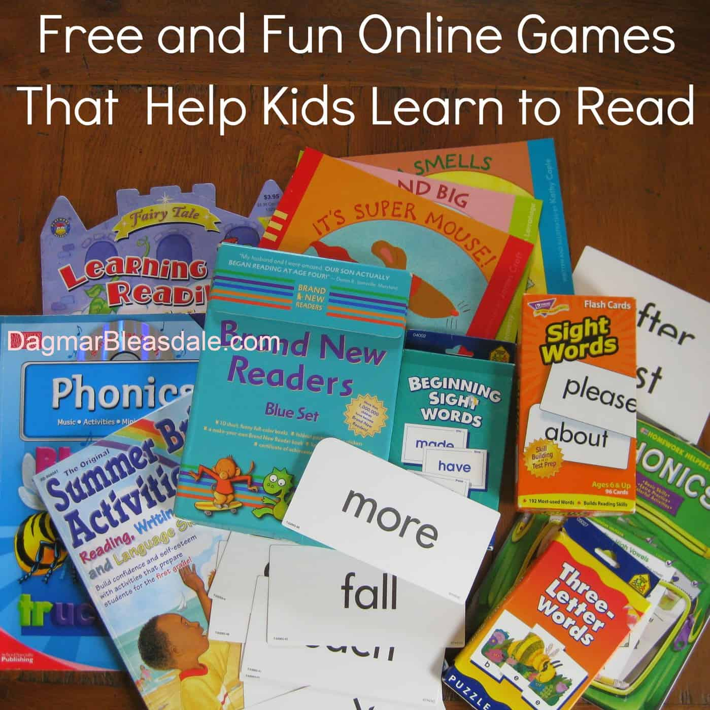 Free and Fun Online Games That Teach Kids to Read