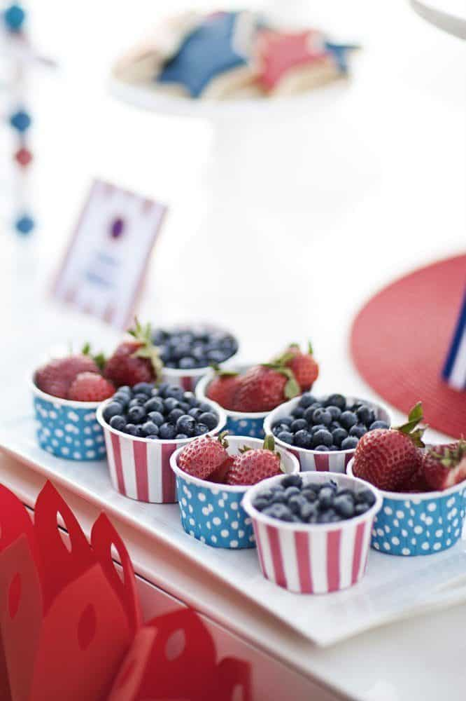 patriotic snack ideas Fourth of July