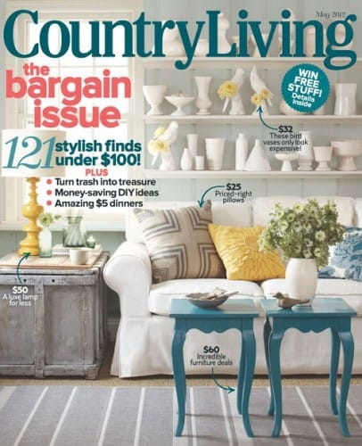 10 country decorating ideas from country living magazine