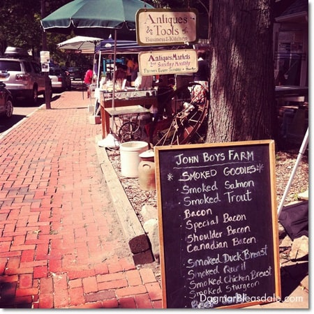 Farmer's Market in Pound Ridge, NY