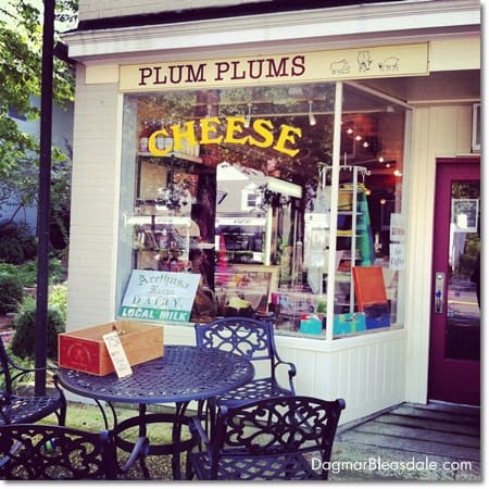 Plum Plums cheese store in Pound Ridge, CT