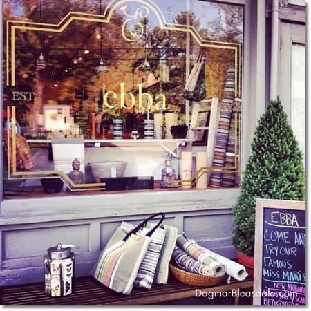 Ebba boutique in Katonah, NY
