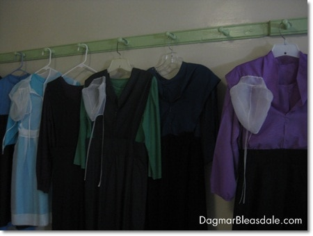 Amish clothes in Amish Farm and House, Pennsylvania
