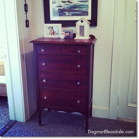 Dagmar Bleasdale: thrifting treasure, little vintage dresser
