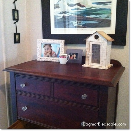 Dagmar Bleasdale: thrifting treasure, little vintage dresser