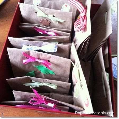 easy DIY goodie bags for kids birthday party