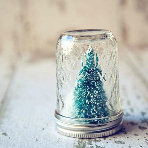 Holiday DIY Snow Globes