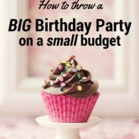 Tips about how to throw a birthday party on a budget! Find all the tips and tricks on DagmarBleasdale.com, http://www.dagmarbleasdale.com/2016/02/50th-birthday-party-on-a-small-budget
