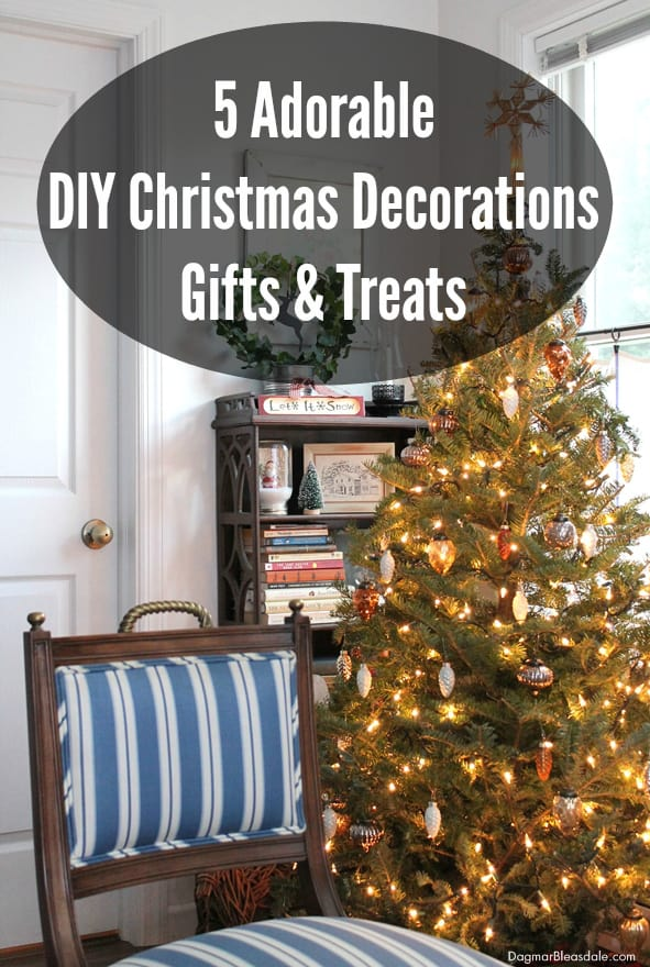 DIY Christmas Decorations, DagmarBleasdale.com