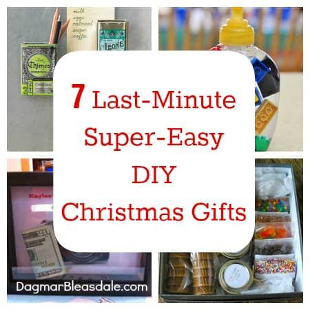 Last Minute Super Easy Diy Christmas Gifts