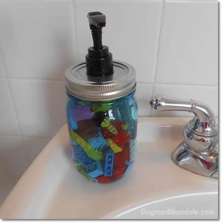 lego soap dispenser