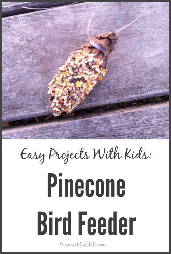 pinecone bird feeder, DagmarBleasdale.com