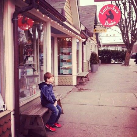 Litte Joe's bookstore in Katonah, NY
