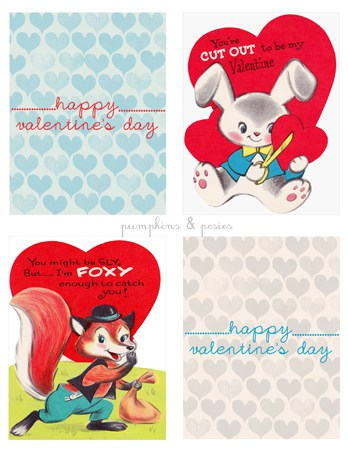 Valentine's Day card free printables