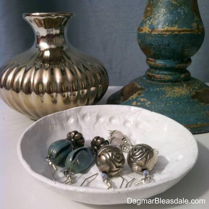 Air-Drying Clay Bowl