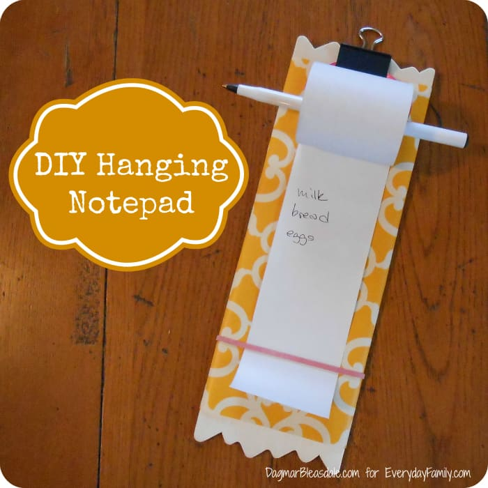 DIY Project: Endless Notepad Made With Receipt Paper Roll