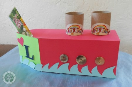 upcycled love boat mailbox craft
