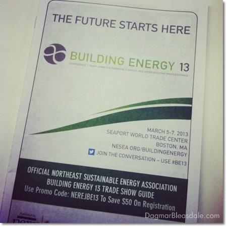 Road Trip to Boston and the Building Energy 13 Conference