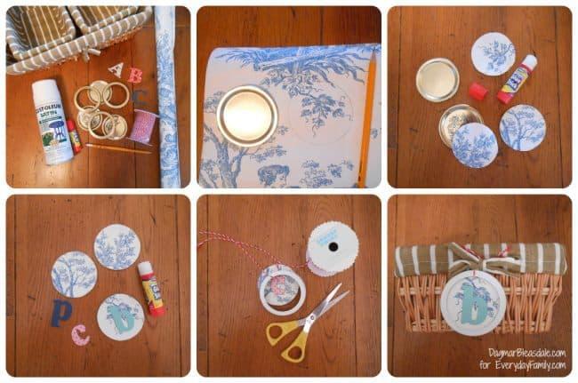 DIY Project: Mason Jar Lid Signs