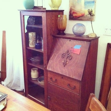 Dagmar's Home: unique vintage desk, thrifting