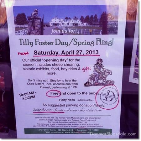 Spring Fling 2013 at Tilly Foster Farm, Brewster, NY