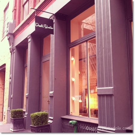 DwellStudio store in Soho, NY