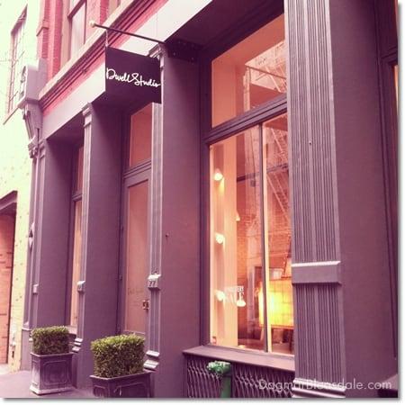 DwellStudio store in Soho, NY