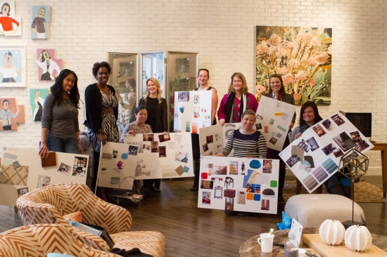 DwellStudio and HP Home Office blogger event