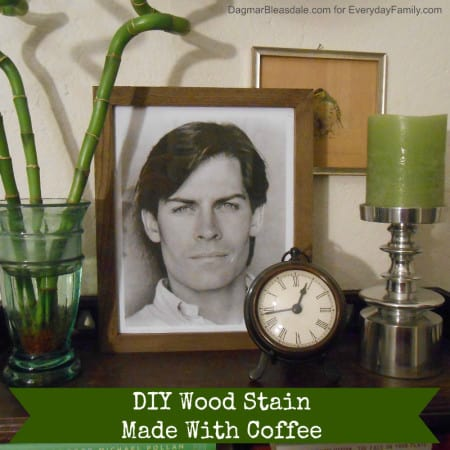 Dagmar's Home: DIY wood stain with coffee