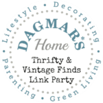 Thrifty & Vintage Finds Link Party, Dagmar