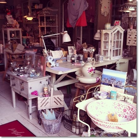 Dagmar's Home Feature: Landlust store in Fischerhude, Germany