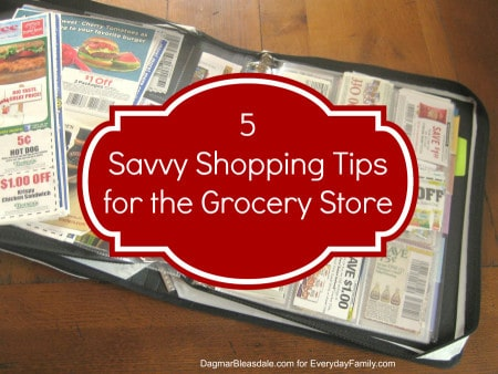 Dagmar's Home: 5 savvy shopping tips for the grocery store