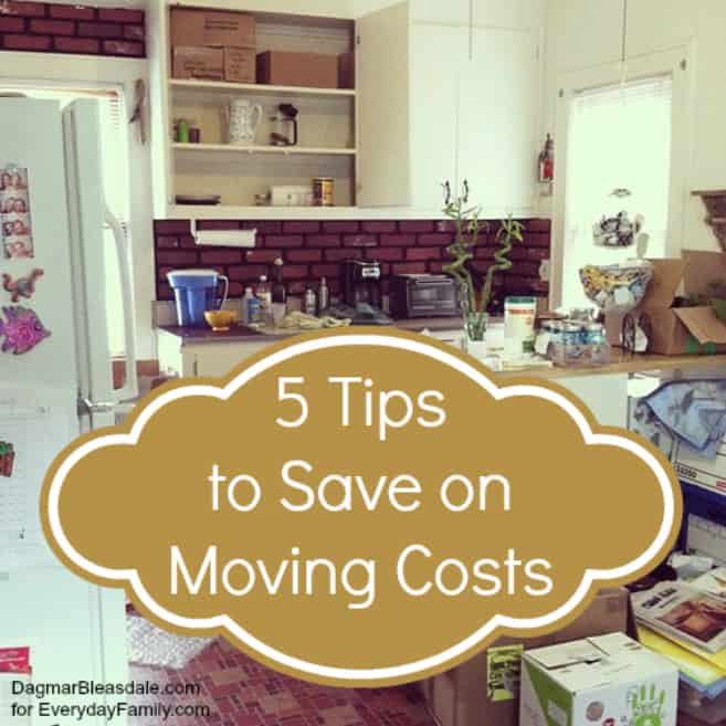 5 Ways To Save Big On Moving Costs